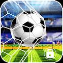 Fußball-Tritt-Bildschirmsperre icon