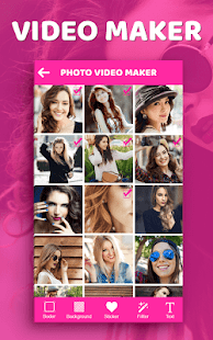 Make a music video-slideshow maker,movie maker - náhled