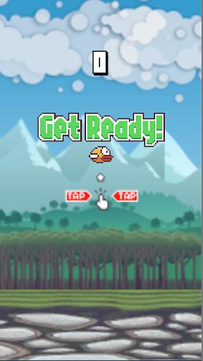 Flying Bird - Flapper Birdie Game 1.2.3 screenshots 1