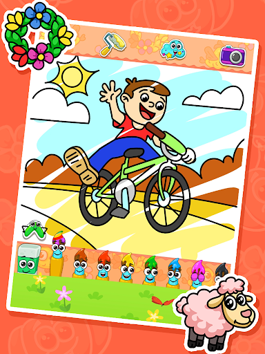 Coloring games : coloring book screenshots 1