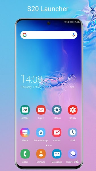 SO S20 Launcher for Galaxy S,S10/S9/S8 Theme