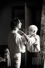 Photo: Bernard and Maman