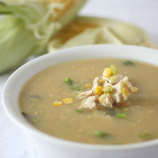 Chinese Chicken & Sweetcorn Soup.