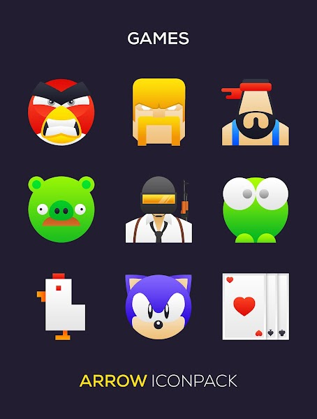 ARROW Icon Pack Screenshot Image