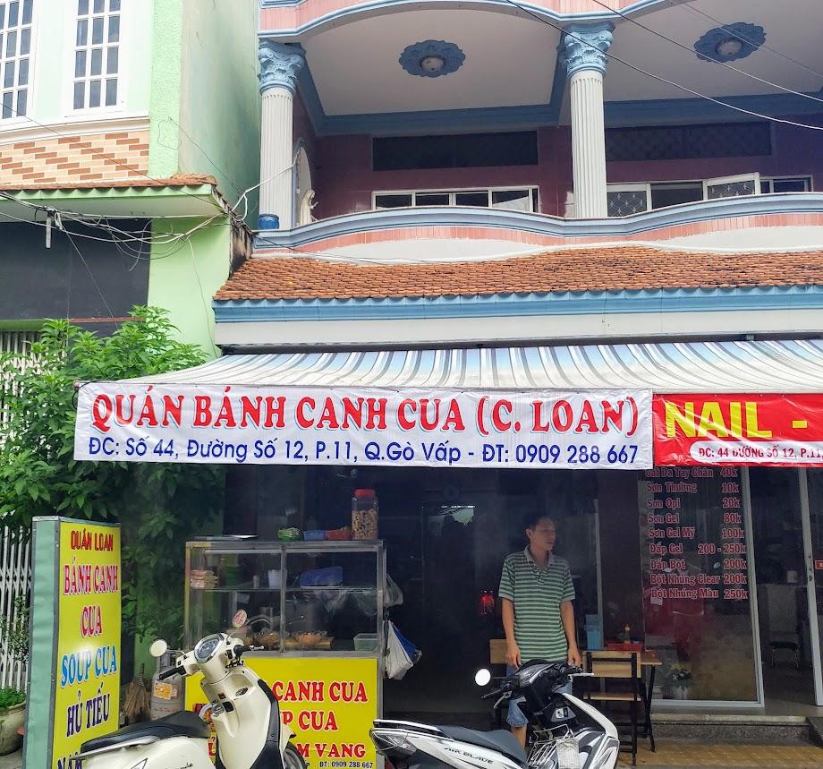 Bánh canh cua chị Loan số 44 đường số 12, phường 11, quận Gò Vấp