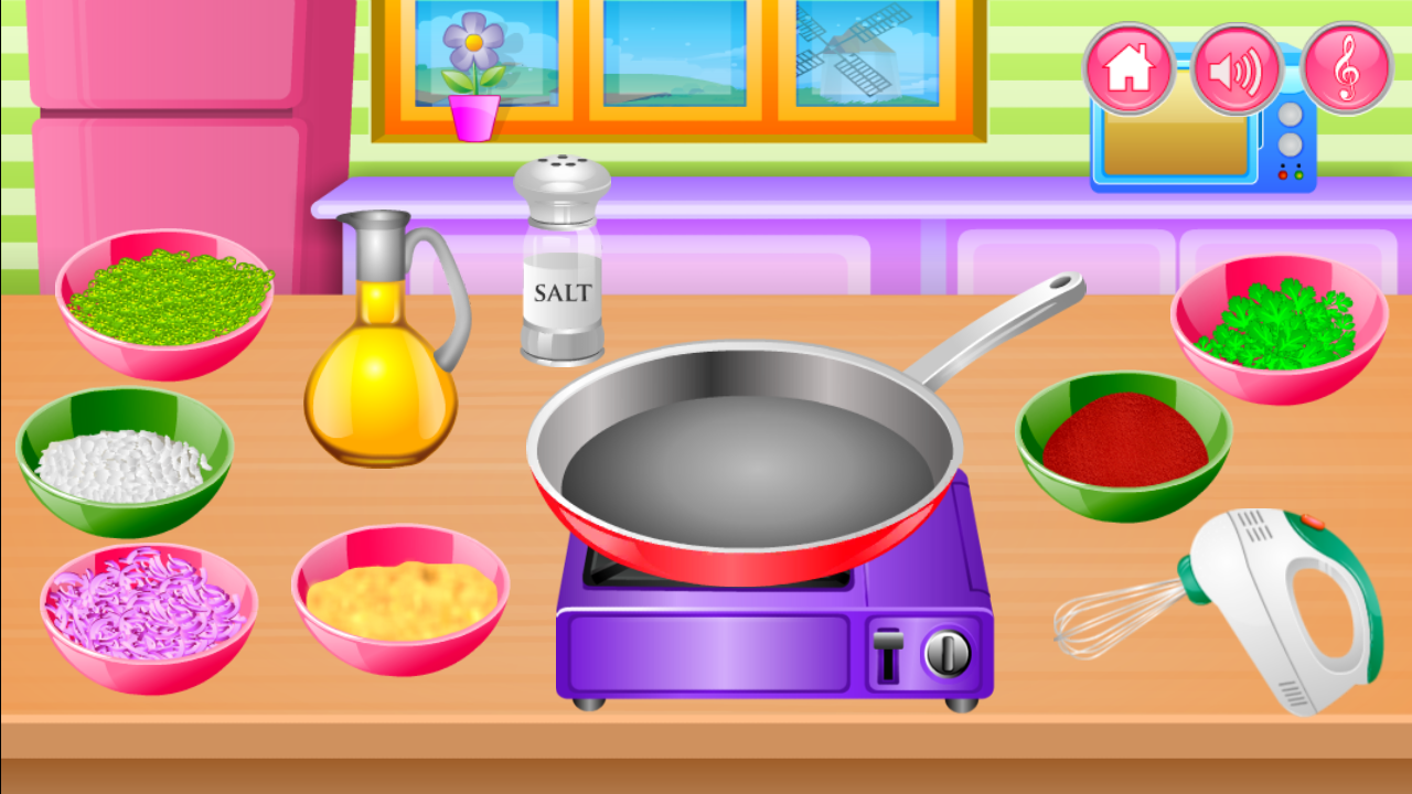 Play kitchen clip art - Cooking In The Kitchen Screenshot
