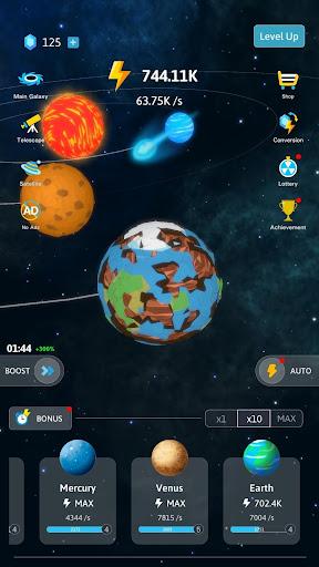 Idle Galaxy Creator apkmr screenshots 3