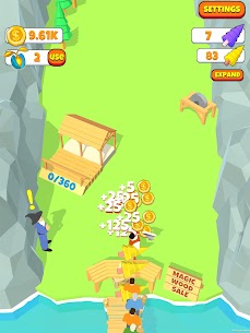 Idle Lumberjack 3D MOD APK [Unlimited Seeds + Mod Menu] 7