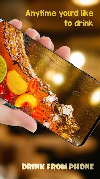Drink Simulator - Drink Cocktail &Juice Mixer Joke Android App Screenshot