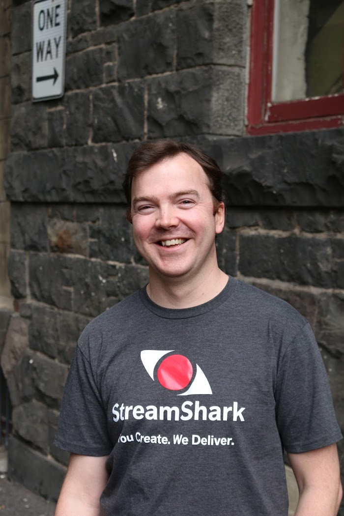 StreamShark CEO James Broberg