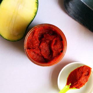 Hot & Spicy Garlic Mango Chutney (My Secret Ingredient).