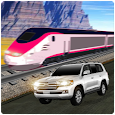Train vs Prado Racing 3D