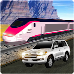 Train vs Prado Racing 3D Icon