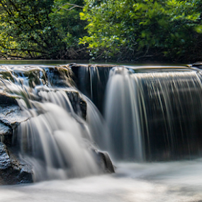 falls by Dale Youngkin - Landscapes Waterscapes ( water, waterfalls, waterfall, landscapes, landscape,  )