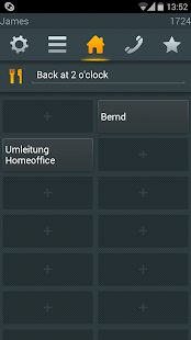myPBX for Android - náhled