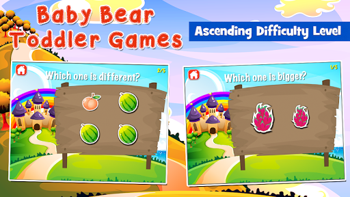 Baby Bear Games for Toddlers  screenshots 6