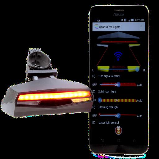 Hands-Free Bicycle LED  light 遊戲 App LOGO-硬是要APP