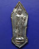 3.พระลีลา 25 พุทธศตวรรษ เนื้อชิน มีเข็ม