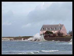 Photo: Coefficient de 100, presque marée haute