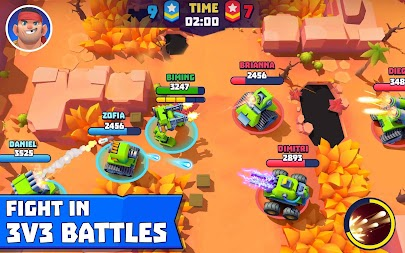 Tanks A Lot! - Realtime Multiplayer Battle Arena APK screenshot thumbnail 9