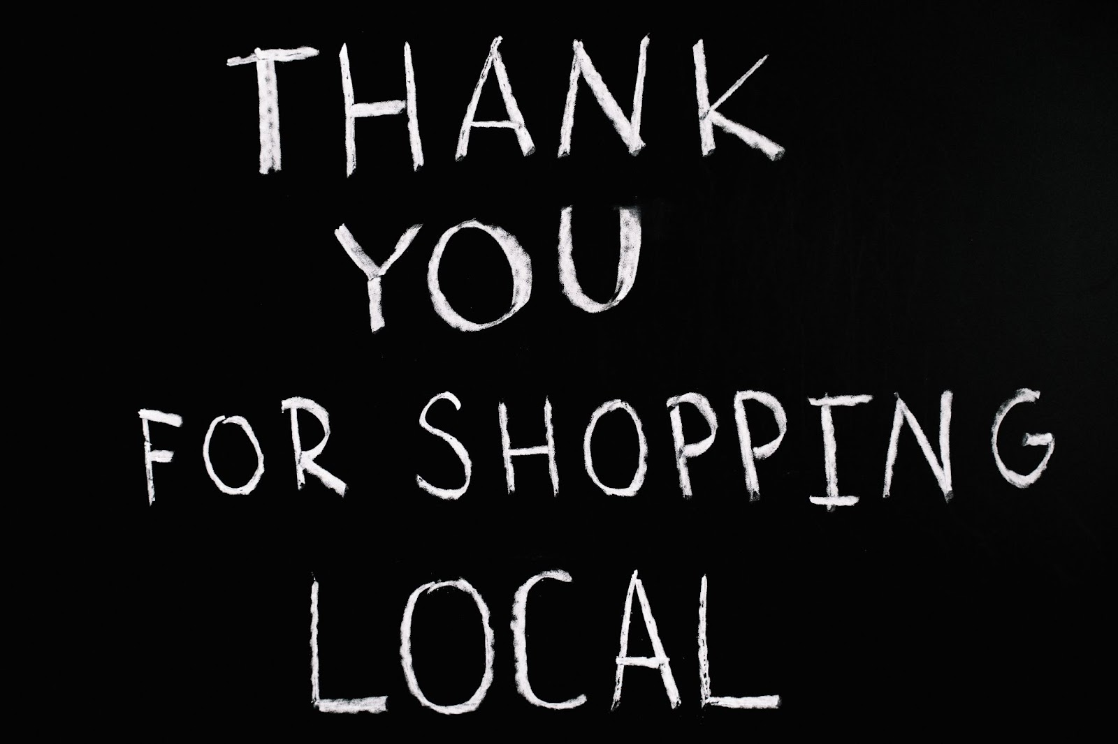 Before you shop local banner