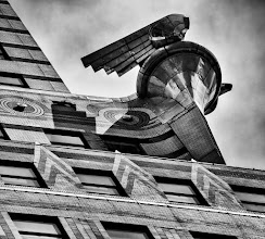 Photo: I took this shot of the Chrysler Building in New York City on a brief late morning walk shortly before I had to head to the airport. I really love the deco details of the Chrysler Building but they can be a challenge to photograph. This was shot just outside of the Lexington Avenue entrance to Grand Central Terminal.