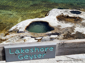 Photo: Lakeshore Geyser at West Thumb