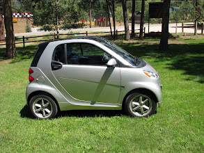 "Photo: Our 2012 smart fortwo in our ""summer"" front yard."