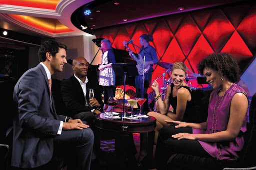 Harmony-of-Seas-jazz-club - Harmony of the Seas features a jazz club among its entertainment offerings.