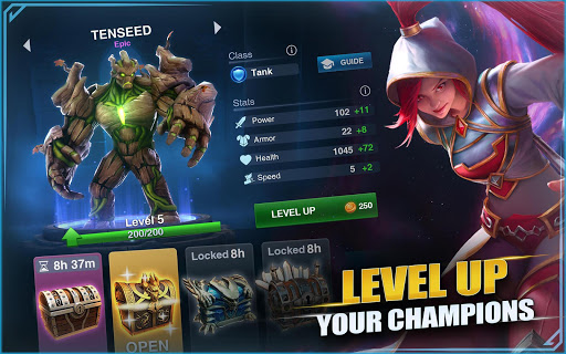 Re: Champions Destiny: MOBA Heroes poster