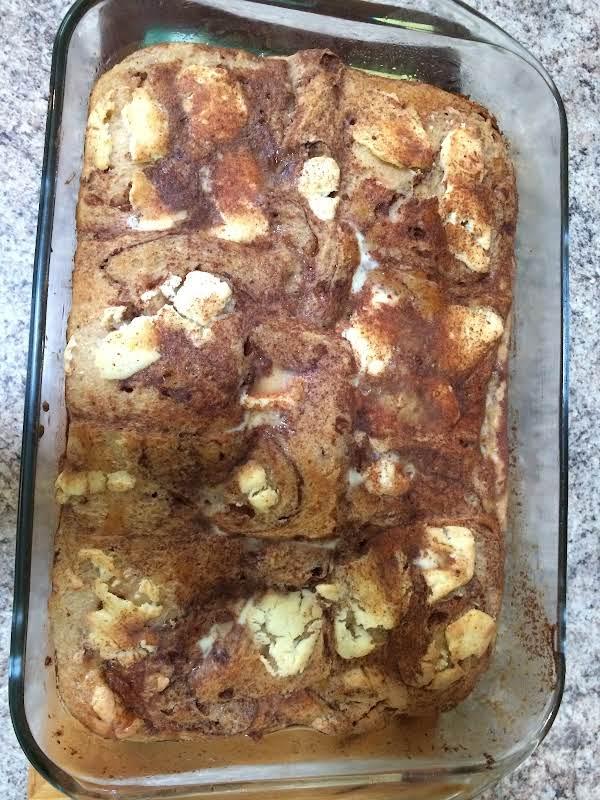 Cinnamon (raisin) Cream Cheese Strata Recipe
