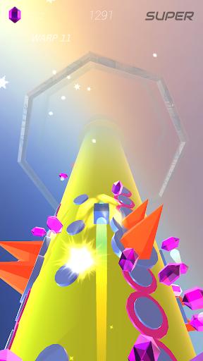Warp and Roll - running flight action game 1.1.7 screenshots 21