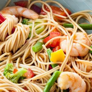 Gingery Shrimp Noodles Recipe