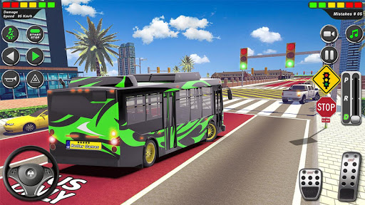 Bus Driving School 2020: Coach Driver Academy Game screenshots 9