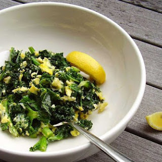Kale Scramble Breakfast Bowl Recipe