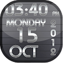 Awesome Clock Live Wallpaper
