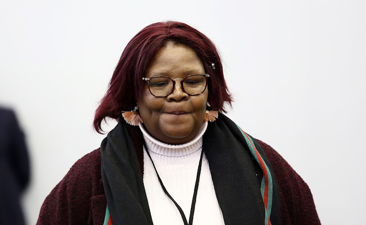 Former ANC MP Vytjie Mentor .