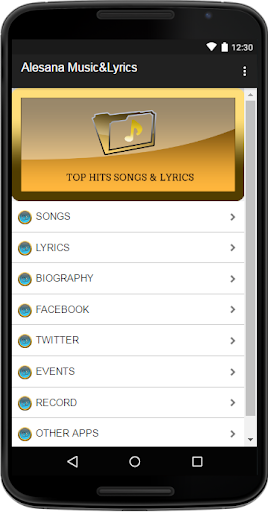 Download Alesana Music&Lyrics Google Play softwares