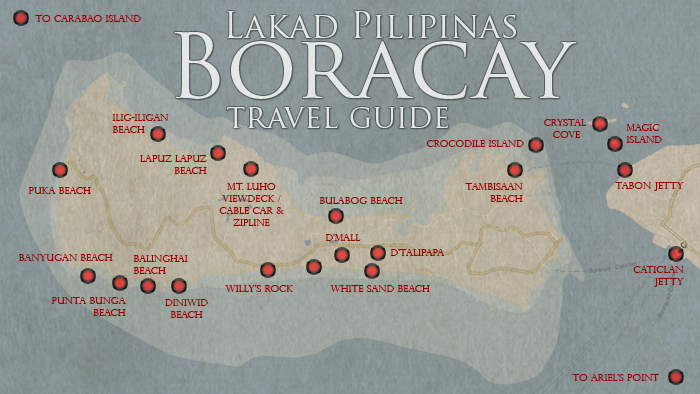 Boracay Tourist Spots Map