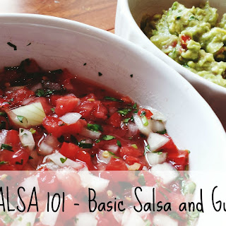 Chewie's Basic Salsa and Guacamole