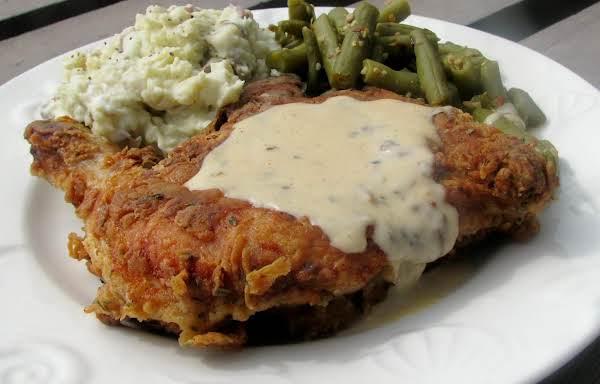 Pan Fried Buttermilk Chicken With Gravy Recipe