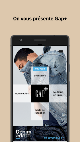 Gap+ France Android App Screenshot