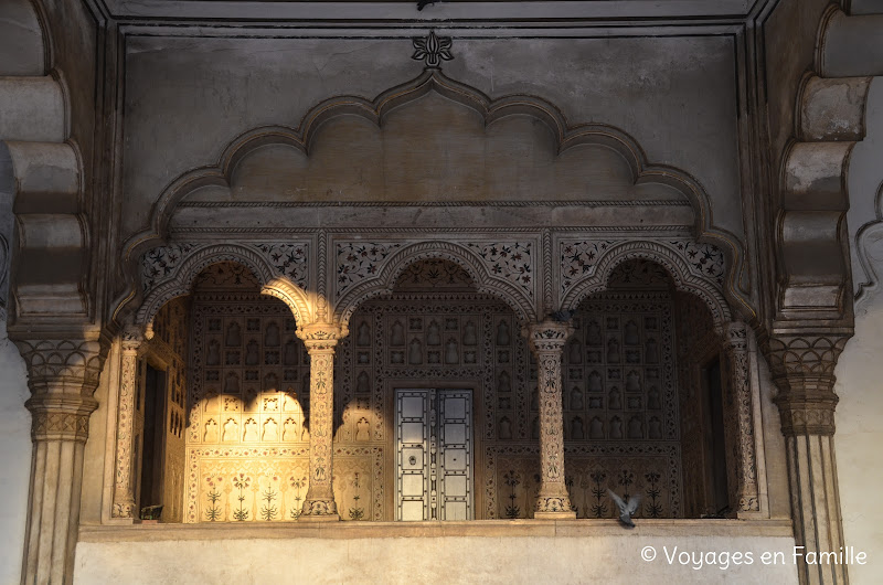 agra fort -