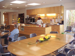 Photo: Schön helle Cafeteria