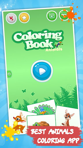 Coloring book Animals for kids 1.3.2 screenshots 4