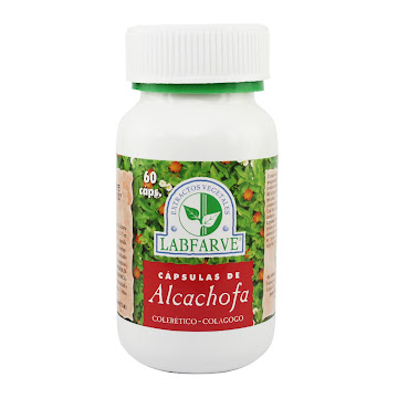 Alcachofa Labfarve   Cápsulas Frasco X60Cap.