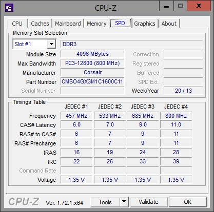 CPU-Z SPD Additional Memory