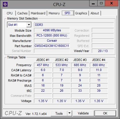 CPU-Z SPD Additional Memory