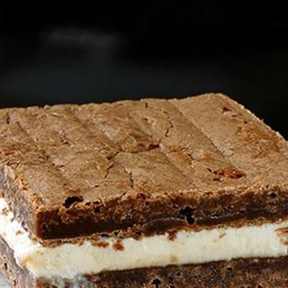 Brownie Ice Cream Sandwiches