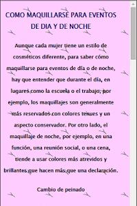 Tips de Belleza screenshot 2